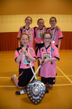 Girls shinty pink